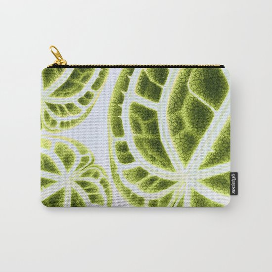 houseplant green Carry-All Pouch