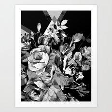 FLORIAN (BLACK & WHITE) Art Print
