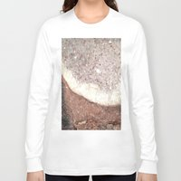 crystals Long Sleeve T-shirts featuring crystals by Cassandra Tavukciyan