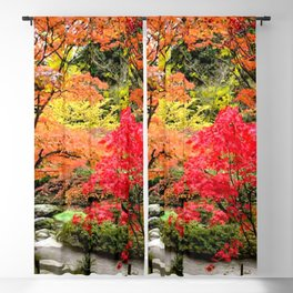 Couleurs d'automne Blackout Curtain
