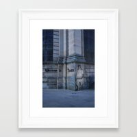 community Framed Art Prints featuring Community  by Made By Anxiety