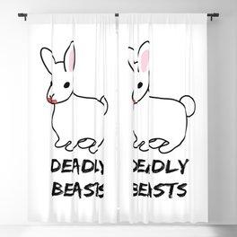 Deadly Beast Blackout Curtain
