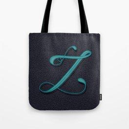 Alphabet Drop Caps Series- Z Tote Bag