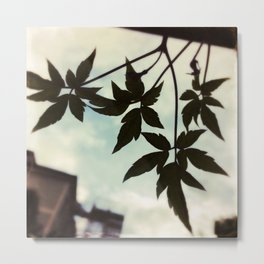 Together - Leaves Silhouette #1 #art #society6 Metal Print