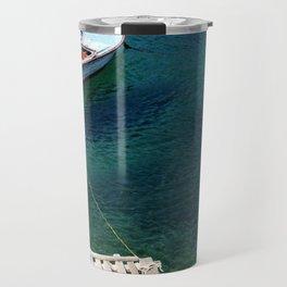 Greek boat Travel Mug