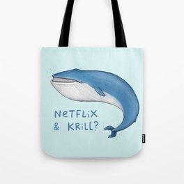 Netflix & Krill Tote Bag