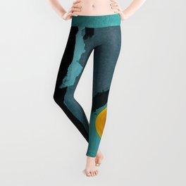 Turquoise Twelve Leggings