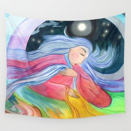 Mother Earth Wall Tapestry