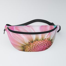 Pink Daisy Flower Fanny Pack