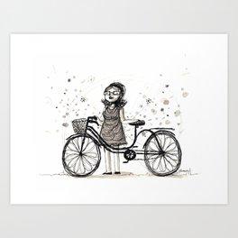 New Bike! Art Print