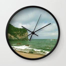 Sao Miguel praia dos moinhos Wall Clock