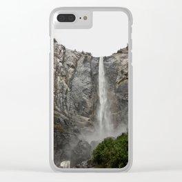 Yosemite - Braidalvail Falls Clear iPhone Case