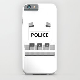 Police Bullet Proof Policeman Police Officer Gift iPhone Case