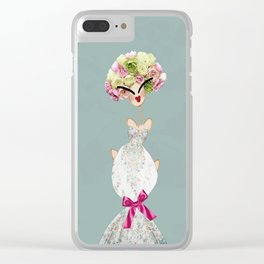 FLOWER BOUQUET Clear iPhone Case