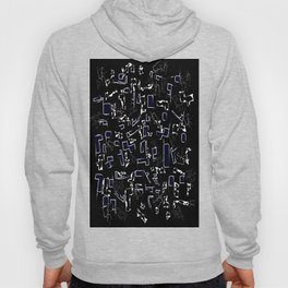 Perfect abstraction Hoody