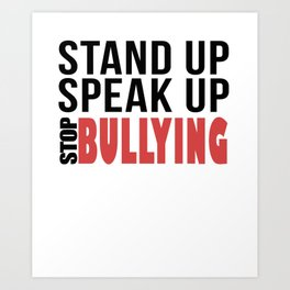antibully Art Print