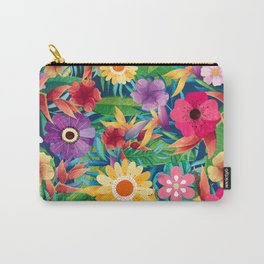 Summer Floral Dreams Carry-All Pouch