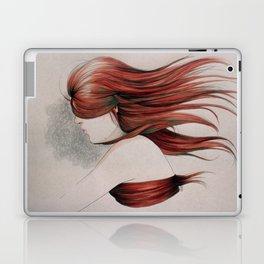 Hiding Hair Laptop & iPad Skin