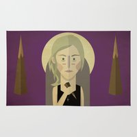 buffy the vampire slayer Area & Throw Rugs featuring Buffy The Vampire Slayer by Gary  Ralphs Illustrations