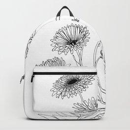 Calendula Flowers Backpack