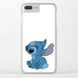 Stitch Clear iPhone Case