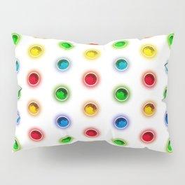 Gems Color Pattern Pillow Sham