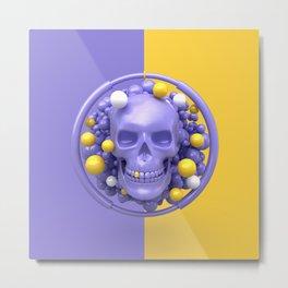Skull V2 Metal Print