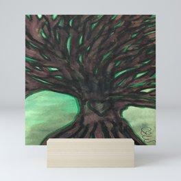 The trees sang Mini Art Print