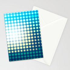 Blue Lights by Friztin Stationery Cards