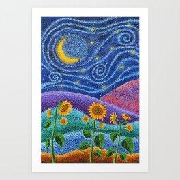 Dream Fields Art Print