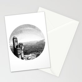 Mask (Backpacking the PCT) - Inktober 2017 Stationery Cards