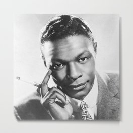 Nat King Cole  - Black Culture - Black History Metal Print