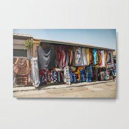 Textiles in Athens Metal Print