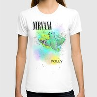 nirvana T-shirts featuring polly / nirvana by Dan Solo Galleries