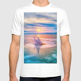 The Strange Ice Circle of Baikal T-shirt