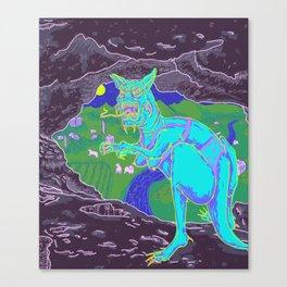 EL CHUPACABRA Canvas Print
