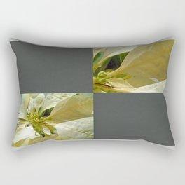 Pale Yellow Poinsettia 1 Blank Q6F0 Rectangular Pillow