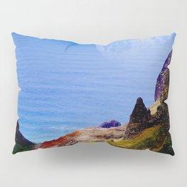 Hawaii Moon Over Coastal Cliffs Pillow Sham