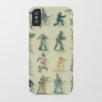 army iPhone & iPod Cases featuring Broken Army by Cassia Beck