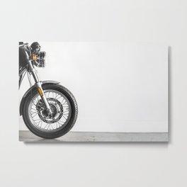 Kickstart me - Cafe Racer Metal Print