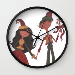 Have YoursELF a Merry Little Christmas! Wall Clock