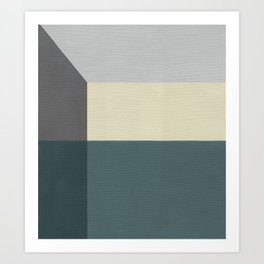 Corner 1 Art Print