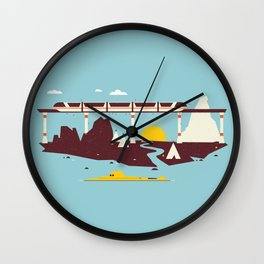 Magical Minimalism Wall Clock