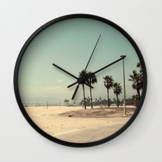 Venice Beach number 2 Wall Clock