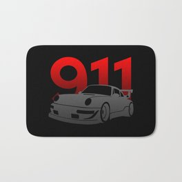 Porsche 911 Bath Mat