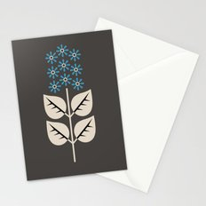Herbaceous Blue Stationery Cards