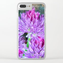 Chive Heads Clear iPhone Case