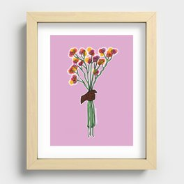 Just for You Recessed Framed Print