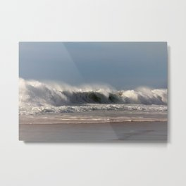 Strong Shorebreak Metal Print