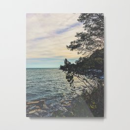 Summer Beach Breeze Metal Print